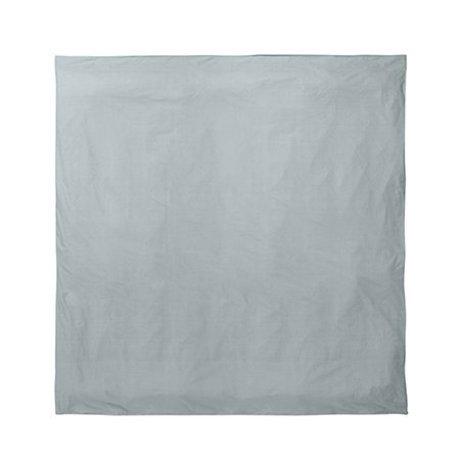 Ferm Living Housse de couette Hush poussiéreux bleu 220x220cm