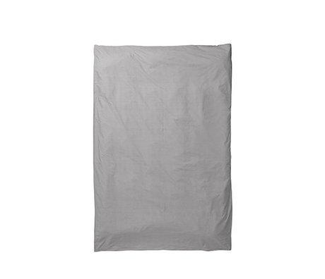 Ferm Living Dynebetræk Hush grå 150x210cm