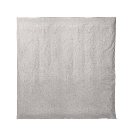Ferm Living Bettdeckenbezug Hush milky way cremefarben 220x220cm