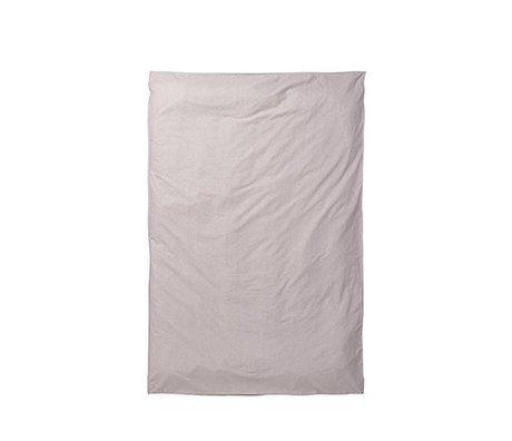Ferm Living Housse de couette Hush voie lactée rose 150x210cm
