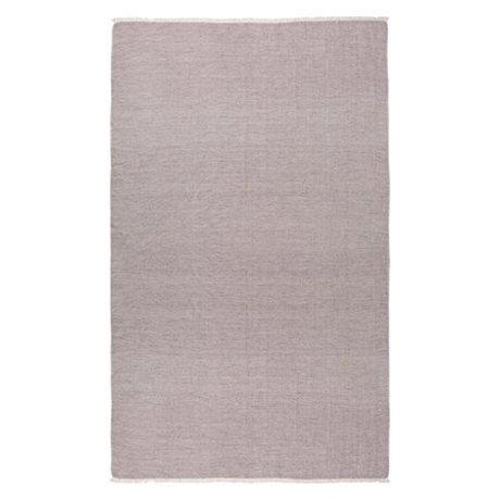 Ferm Living Tørklæde Blend Burgund Rød 240x140cm