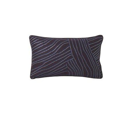 Ferm Living Cojín Koraal violeta azul 40x25cm
