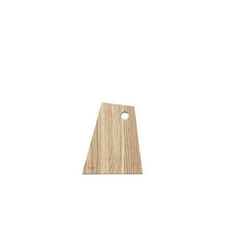 Ferm Living Planche à découper asymétrique bois huilé naturel petit