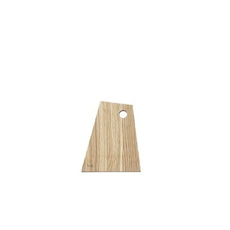 Ferm Living Skærebræt asymmetrisk naturligt olieret træ lille
