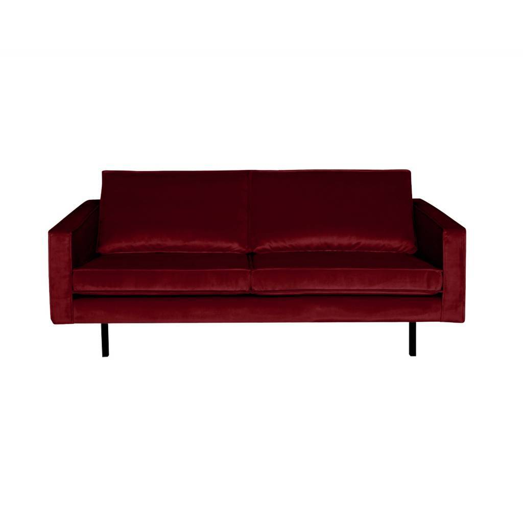 Gorgeous red 2 5 seater velvet sofa from bepurehome the rodeo sofa has a modern luxurious and timeless look with loose cushions