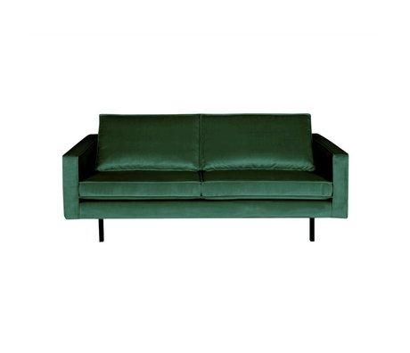 BePureHome Sofa Rodeo 2,5-Sitzer Green Forest grün Samt 190x86x85cm