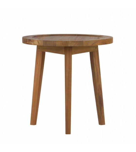 table d 39 appoint sprokkeltafel bois naturel s 60x45x45cm. Black Bedroom Furniture Sets. Home Design Ideas