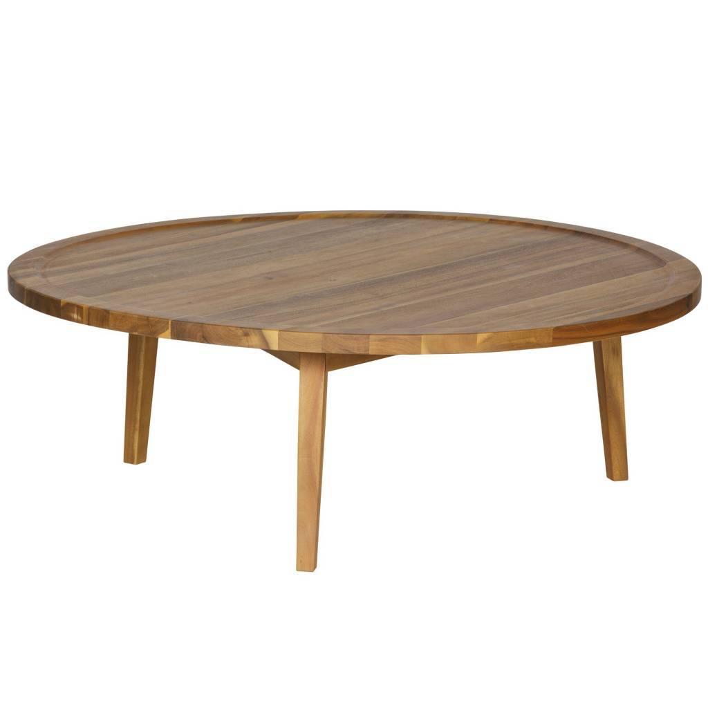 table d 39 appoint sprokkeltafel bois naturel l 35x100x100cm. Black Bedroom Furniture Sets. Home Design Ideas
