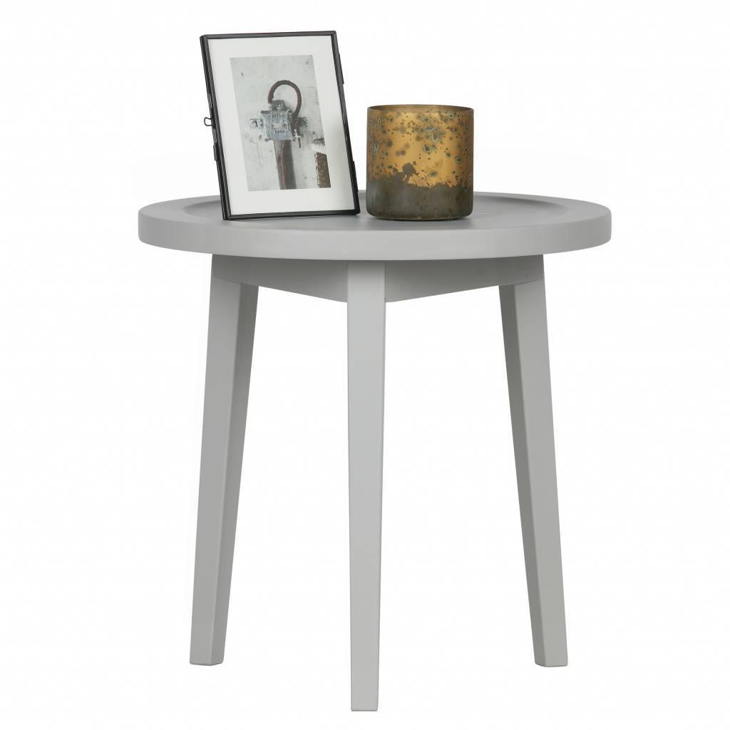 Table Dappoint Sprokkeltafel Bois Gris Xs 45x45x45cm Leflivingcom