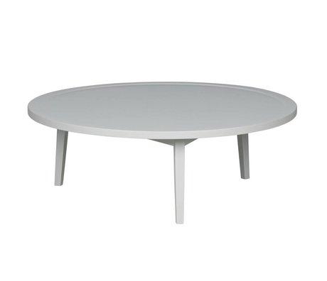 vtwonen Table d'appoint bois gris Sprokkeltafel L 35x100x100cm