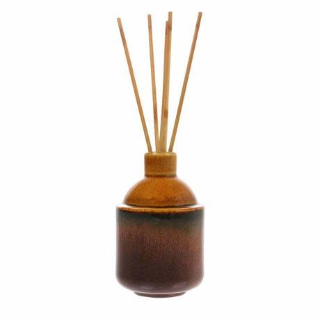 HK-living Bâtonnets d'encens HK.5: basilic propre 8,5x8,5x13,5cm