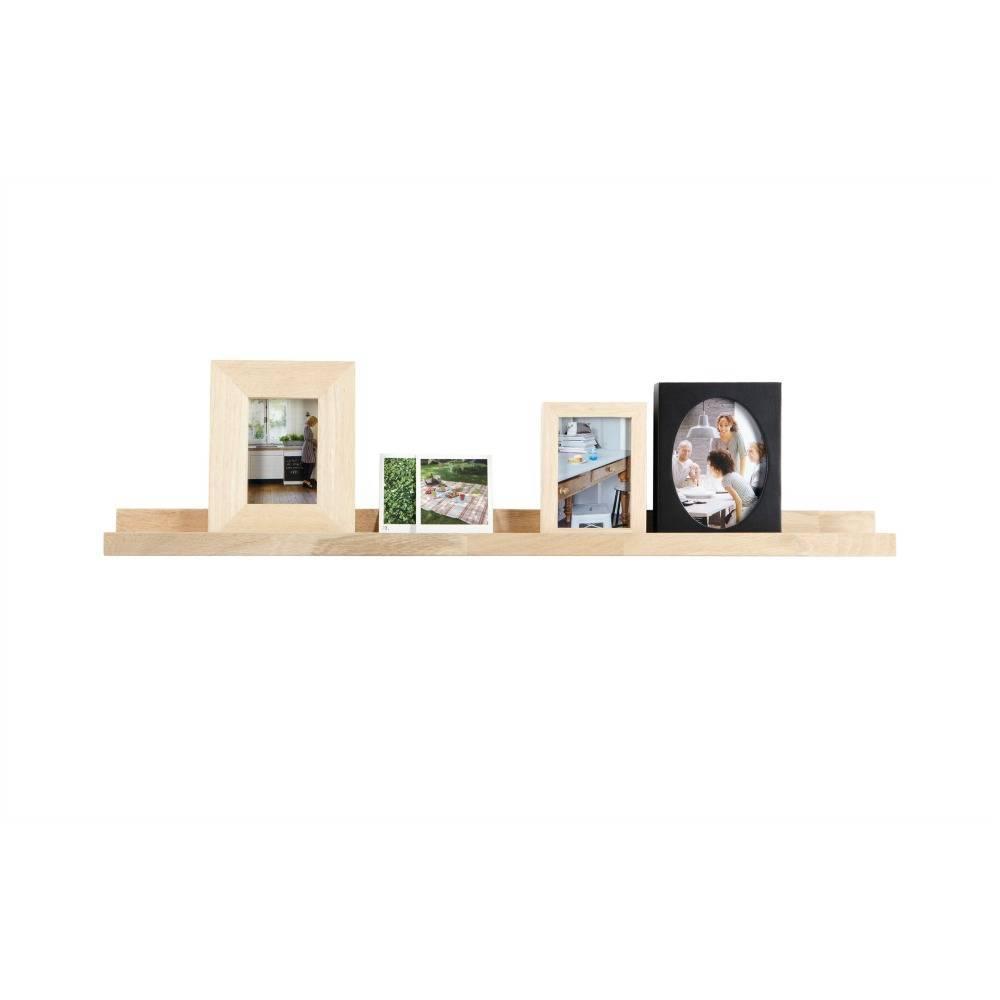 Plank unbehandeltem Eichenrahmen 6x100x10cm - lefliving.de
