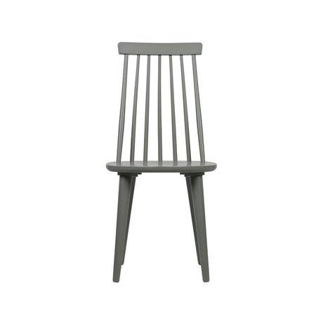 vtwonen Spisebordsstænger sæt af 2 betongrå træ 43x48x92cm