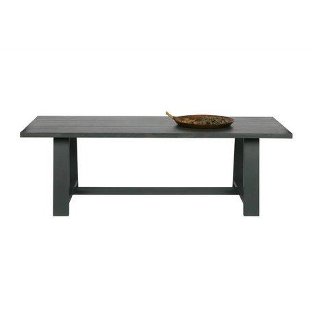 vtwonen Spisebord Kvadratisk grå eg 230x90x75cm