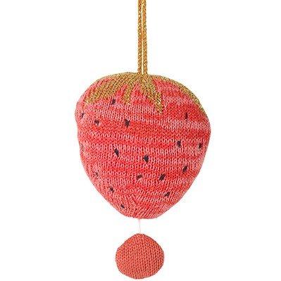 ferm living mobile mit musik fruiticana strawberry. Black Bedroom Furniture Sets. Home Design Ideas