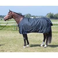 Harry's Horse Winterdeken Thor 200 gram Ebony maat 125 cm