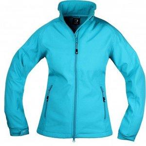 Horka Softshell jacket Silhouette Blue lagoon maat M