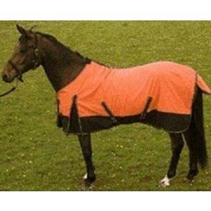 Imperial Riding Zomerdeken oranje/zwart 135 cm