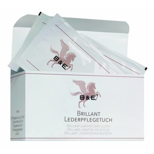 B&E Brillant Lederonderhouds doekjes 12x65ml