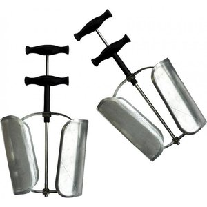 Equi Theme Metalen schoenspanners met plastic handvaten