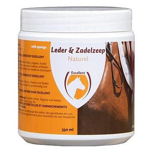Excellent Zadelzeep met spons 350 ml