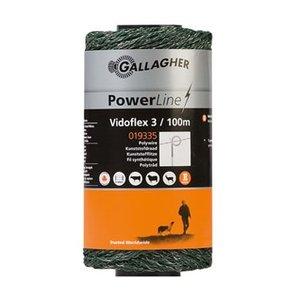 Gallagher Vidoflex 3 draad groen 100 meter