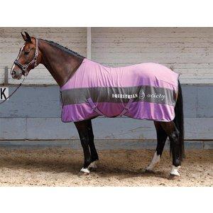 Harry's Horse Fleece deken Banner Chalk Violet 185 cm