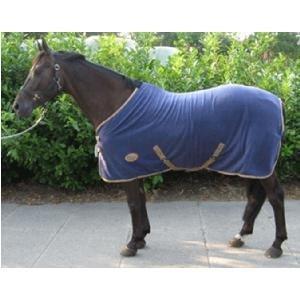 Harry's Horse Fleece deken Insignia Navy maat 215
