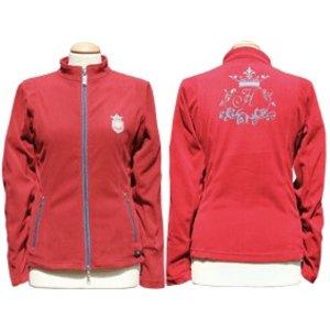 Harry's Horse Fleece vest Rumba Jester Red, XS