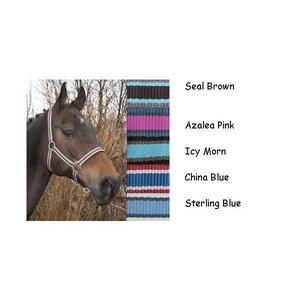 Harry's Horse Halsterset Stripe Azalea Pink maat Pony
