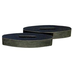 Harry's Horse Teugelstops rubber, per paar