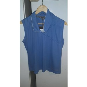 Anky Mouwloos shirt, Angel Blue maat L