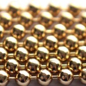 Goud Ballchain goud 1.2mm