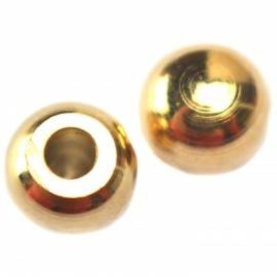 Goud Eindkap Ø2mm goud DQ 5mm