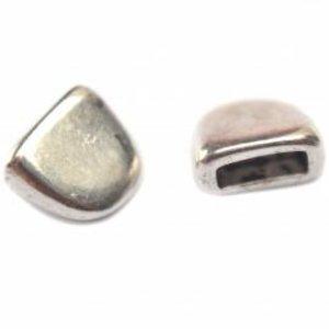 Zilver Eindkap Ø6x2mm zilver DQ