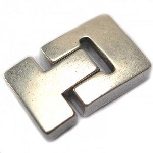 Zilver Magneetsluiting Ø20x3mm zilver DQ