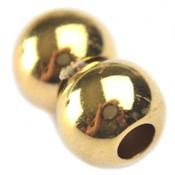 Goud Magneetsluiting bollen Ø4mm metaal goud DQ
