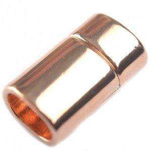 Rosegoud Magneetsluiting Ø10x6mm roségoud DQ