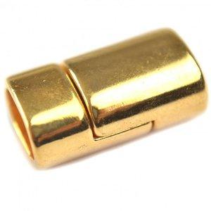 Goud Magneetsluiting Ø10x6mm goud DQ