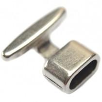 Zilver Eindkap sluiting Ø10x5mm zilver DQ