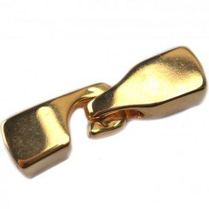 Goud Sluiting Ø6x2.5mm goud DQ
