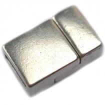 Zilver Magneetsluiting Ø6x2.5mm zilver DQ