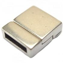 Zilver Magneetsluiting Ø13x2.5mm zilver DQ