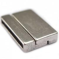 Zilver Magneetsluiting Ø30x3mm zilver DQ