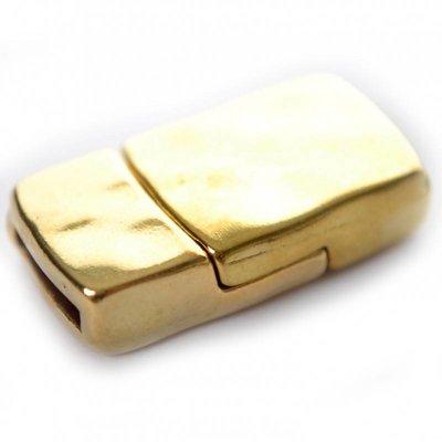 Goud Magneetsluiting Ø10x2mm metaal goud DQ