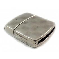 Zilver Magneetsluiting Ø13x2mm zilver DQ
