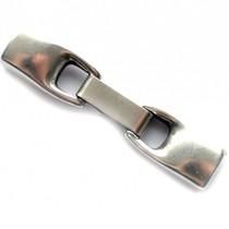 Zilver Sluiting Ø6x2mm zilver DQ