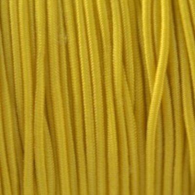 Geel Elastiek geel 1mm - 3 meter