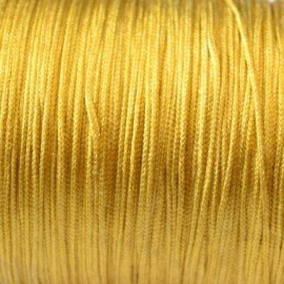Goud Nylon koord goud 0.8mm - 6 meter