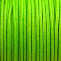 Groen Leer rond DQ fluor groen 2mm